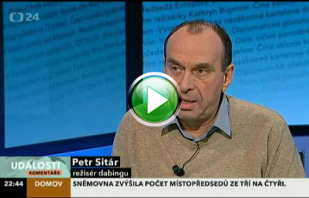 Peter Sitar in TV show about Hobbit